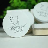 South Korean cosmetics wholesale loose powder dual dinosaur square hold powder Powder Concealer
