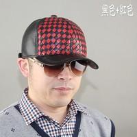 Original design male genuine leather warm fashion hat van the trend multicolour comfortable