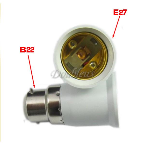 лампа держатель лампочки гнездо конвертер адаптер для БК b22 es e27 e14 ses винт