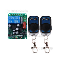 220V 2CH RF Wireless Remote Control Switch learning code 1 recevier + 2transmitter M4T4L4 adjustable