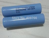 20pcs/lot New Genuine Samsung INR18650-15M 1500mAh 3.7V li-ion rechargeable battery batteries 10A