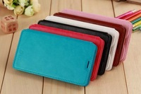 Luxury Leather Case Mobile Phone Stand Case Cell Phone Pouch View Window Case For Meizu MX4 Pro
