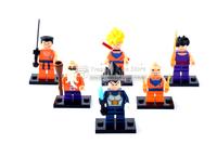 Dragon ball Z 8pcs/set  minifigure  Building Block Compatible With Lego