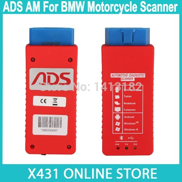2015 ADS AM For BMW Motorcycle Diagnostic Scanner ADS5801 Autocycle Online Update Motor Bluetooth Diagnostic Tool(China (Mainland))