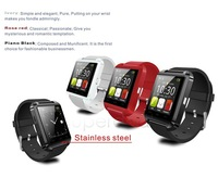 Bluetooth Smart Watch WristWatch U8 watch sport for iPhone 4/4S/5/5S Samsung S4/Note 2/Note 3 HTC Android Phone Smartphones sv18