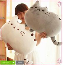 40*30 cm peluche farcito bambola animale parlando giocattolo animale pusheen gatto per la ragazza del capretto kawaii brinquedos carino cuscino trasporto libero  (China (Mainland))