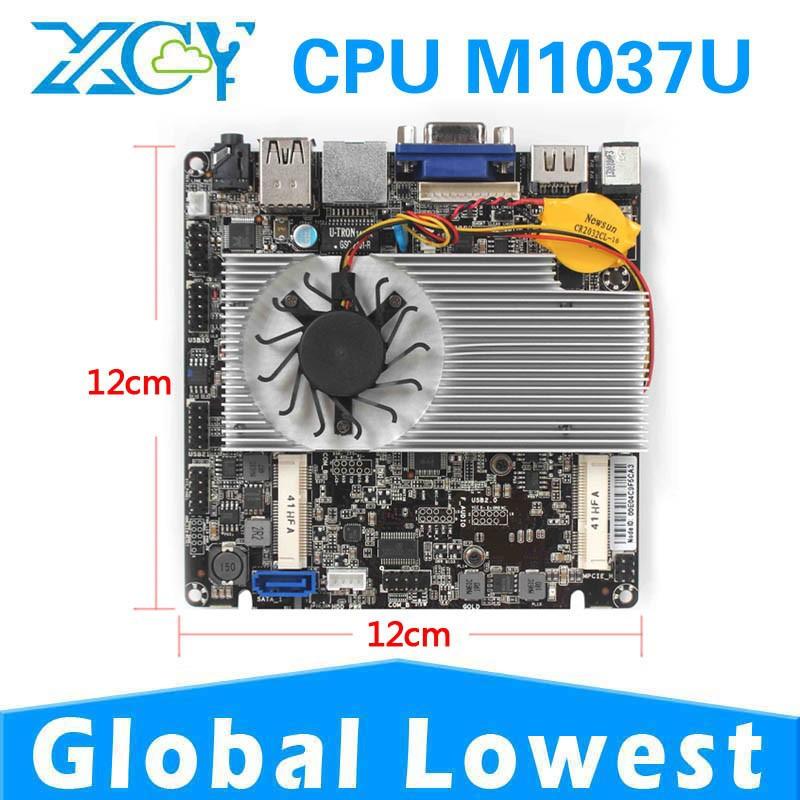 Factory price X-28 Intel M1037U Mini ITX Desktop Board Mini pc motherboard Micro mini main board(China (Mainland))