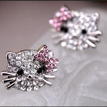 Beautifully designed fashion hot super cute Hello Kitty cute little kitty earrings for women