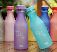 Scrub Plastic Water Bottle,My Bottle,Portable Leak-proof Cup Bike Sports Unbreakable Water Bottle,Eco-friendly travel mug