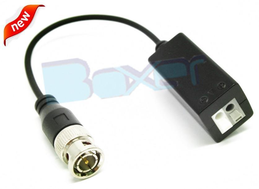 all in one video balun transceiver cctv camera accessory TVI AHD CVI signal video balun no adapter extender UTP(China (Mainland))