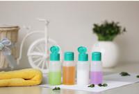4 Sets Cosmetic Lotion Bottle Set Travelling Bottle Portable Cosmetics Eco-Friendly Plastic Liquid Refillable Bottles