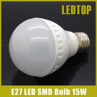 E27 15W Led Bulb 2835 SMD Lamp AC 220V 230V 21leds Light Warm Cold White For Home chandelier High Lumens Bombillas
