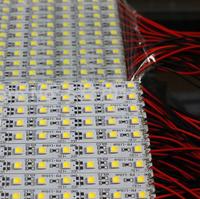 EMS/DHL/Fedex DC12V 100cm 72LED SMD 5050 Aluminum Alloy Rigid Bar light Led Strip light Bulbs Warm white / White