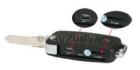 Mini HD Camcorder Video Recorder DV Hidden Spy Car Key Camera DVR Key Chain Free shipping
