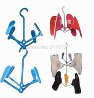 Folding Rack Multi-function Shoe Drying Rack Originality Storage&Organization Fashion Multicolor Hook Type Storage Holders&Racks