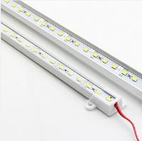LED 5630 5730 SMD LED Rigid Bar Strip Lights U Aluminium Shell By 4500K Nature White/WarmWhite/White/ColdWhite/Red/Blue