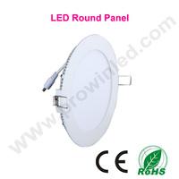 3W 4W 6W 9W 12W 15W 18W 24W panel led light free shipping by DHL/Fedex round kitchen ceiling light led downlight white for home