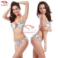 New Hot 2015 Sexy women Bandage Padded Bra Bikini Sets, Ladies/ Grils Fresh Triangle Swimsuit Bath Suit Summer Swimwear DM035