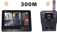 "DP900 7"" TFT Display Door Viewer Doorphone Intercom System Wireless Video Intercom Doorbell Access Control"