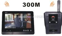 """DP900 7"""" TFT Display Door Viewer Doorphone Intercom System Wireless Video Intercom Doorbell Access Control"""