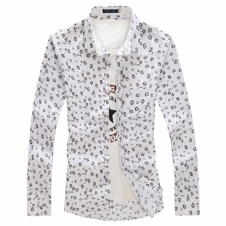 2017 Wholesale 2015 New Spring Floral Printed Non Ironing Shirts ...
