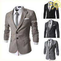 2015 Spring New Men Blazer Fashion Slim Fit Casual Suit X301