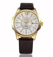 2015New York8123 Curren leather sandals men quartz cloc waterproof business calendar watches fashion luxury boutique men's watch