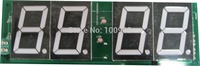 "18""red led display desk clock 7- segment red remote 4 digital countdown timer led module"