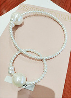 European and American ladies elegant pearl jewelry accessories decorative exaggerated Korean short paragraph clavicle chain neck