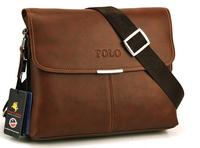 2015 New Arrival genuine leather men shoulder bag fashionable messenger bag FREE SHIPPING