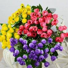 Flores artificiais plantas flores artificiais para decoração de casamento Houseware decoração grátis frete(China (Mainland))