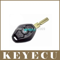 Replacement Shell Remote Key Case Fob 3 Button for 3 5 7 SERIES Z3 Z4 X3 X5 M5 325i E38 E39 E46 BackSide without the Words