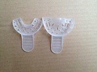 Free Shipping Disposable Dental Impression Trays NEW Dental Instruments Plastic one time use