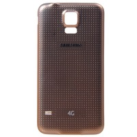 Gold Battery Door Back Cover Plastic Case for Samsung Galaxy S5 i9600