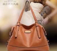 2015 Hot European American style Genuine Leather Cowhide Women handbags Fashion Women shoulder bags