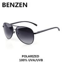 2015 Men Polarized Sunglasses Vintage Classic Aviator Male Sun Glasses Driving Glasses Oculos De Sol Masculino With Case 9076