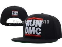 New brand  baseball cap RUN DMC flat-brim Snapback Caps classic hiphop skateboard men women fashion snapback Hat free shipping
