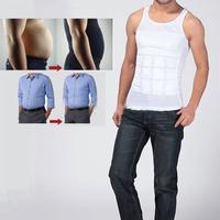 Brand New Men Body Shaper Slimming Tummy Shaper Vest Belly Underwear Shapewear Waist Girdle Shirt