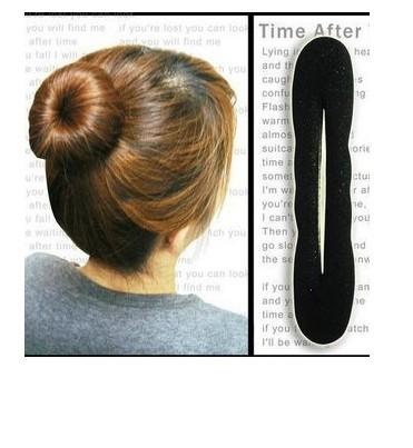 2015 HOT women's hairwear accessory hair popular sponge hair Clip maker wholesale convenient hair accessary, Hair DIY 3H0262(China (Mainland))