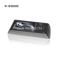 Free shipping Car DVR car camera video recorder X3000 2.7 Inch Screen G-sensor Dual Camera Dash Cam