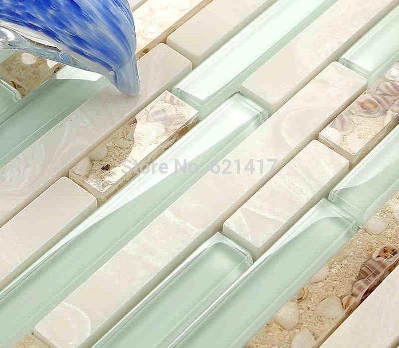 Keuken Licht Blauw : Mosaic Bathroom Floor Tile