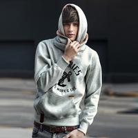 Free Shipping 2015 NEW brand sports hoodies men fleece Fashion men's warm Hoodies Sweatshirts, Suit Hoody jacket 4 colors