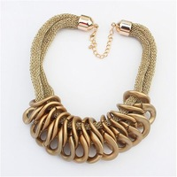 The European and American fashion temperament necklace#112549