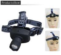 Portable 3W CREE LED Zoomable Headlamp AAA Head Torch Light Flashlight 3-Mode