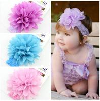 Childrens Accessories Hair Flowers Crochet Headbands Baby Hair Accessories Girls Headbands Children Hair Accessories
