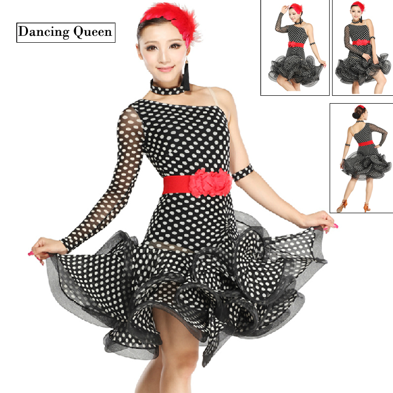 Одежда для латинских танцев Dancing Queen 2015 Enfeites Cha Cha DQ3019