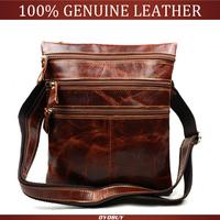 2015 spring tide men's casual leather bag Genuine leather men messenger bag fashion men's leather bags wholesale