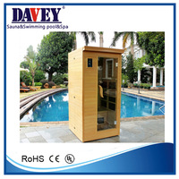 2015 new style sauna and steam combined room