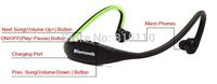 Sports Stereo Wireless Bluetooth Headset Earphone Headphone for iPhone 6 plus 5 4 Galaxy S5 s4 S3 HTC LG Smartphone *200pcs/lot