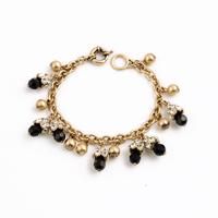 Fashion fashion accessories vintage exquisite black gem pendant female bracelet